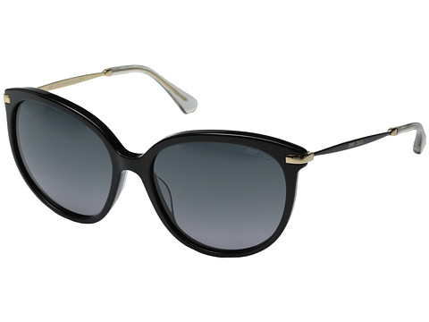 Jimmy Choo - Ive/S (Black/Grey Gradient) Fashion Sunglasses