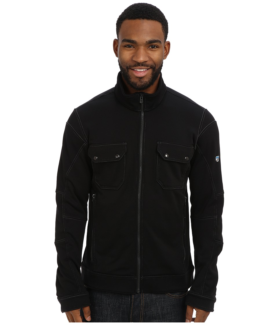 Kuhl - Stolkholm Fleece Jacket (Raven) Men's Coat
