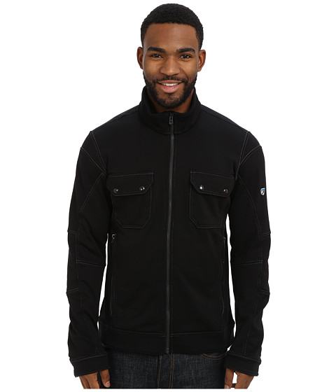 Kuhl - Stolkholm Fleece Jacket (Raven) Men's Coat