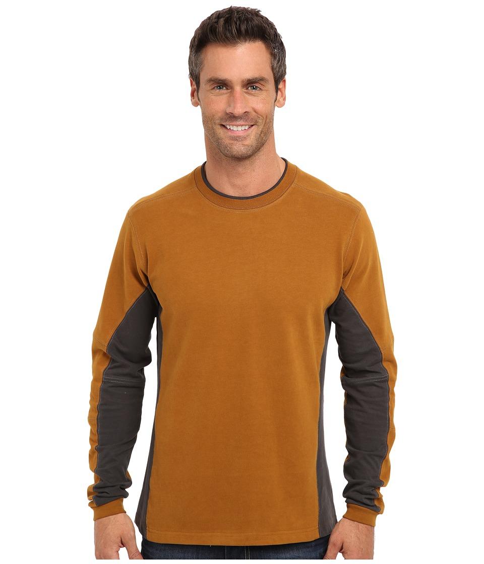 Kuhl - Kontendr L/S Pullover (Bronze) Men's T Shirt