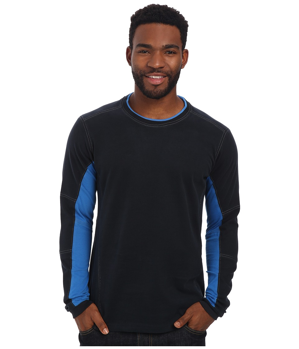 Kuhl - Kontendr L/S Pullover (Pirate Blue) Men's T Shirt