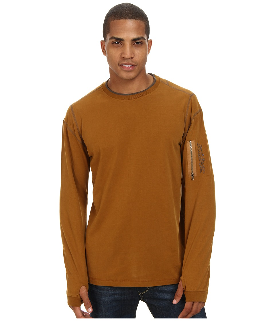 Kuhl - Kommando Crew (Bronze) Men's Long Sleeve Pullover