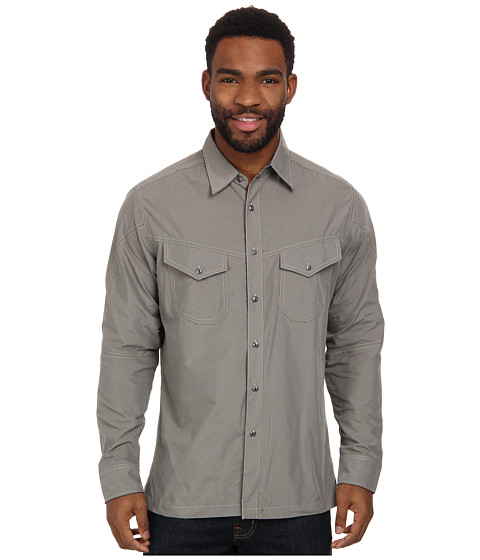 Kuhl - Impulse (Metal Green) Men's Long Sleeve Button Up