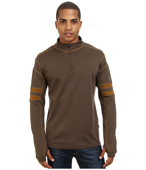 Kuhl - K hl Team 1/4 Zip (Breen) Men's Long Sleeve Pullover