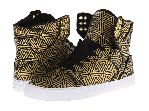 Supra - Skytop (Gold/Black) Women's Skate Shoes
