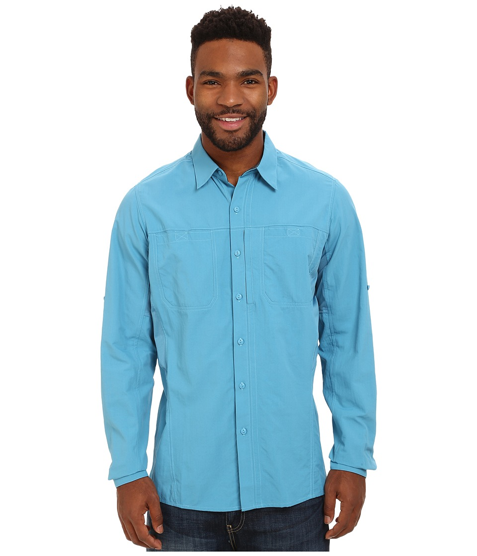 KUHL - Wunderer (Ocean Blue) Men's Long Sleeve Button Up