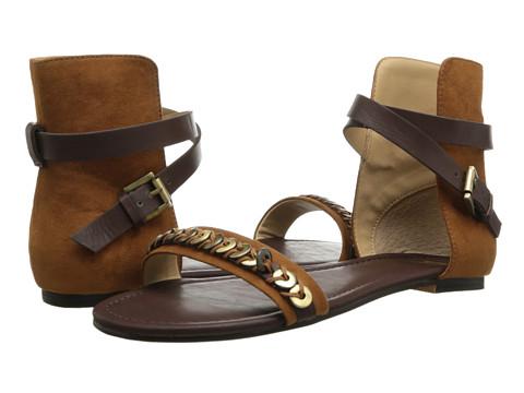 Joe's Jeans - Mack II (Dark Tan Suede) Women's Sandals