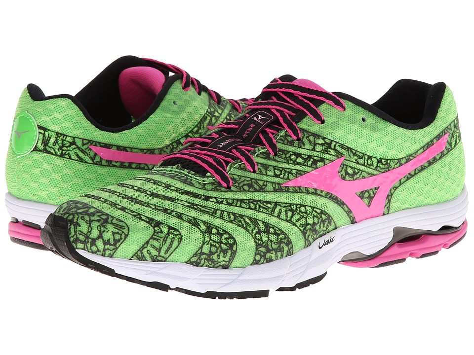 Mizuno - Wave Sayonara 2 (Green Flash/Electric/Black) Women
