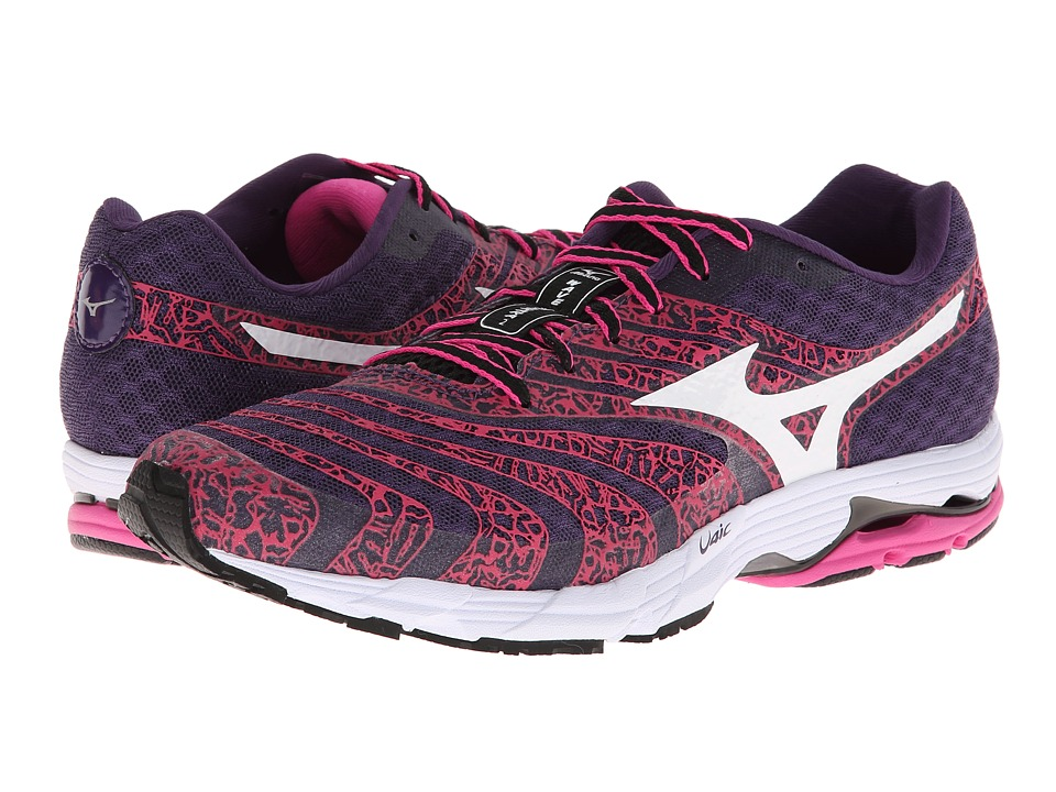 Mizuno - Wave Sayonara 2 (Purple Plumeria/White/Electric) Women's Running Shoes