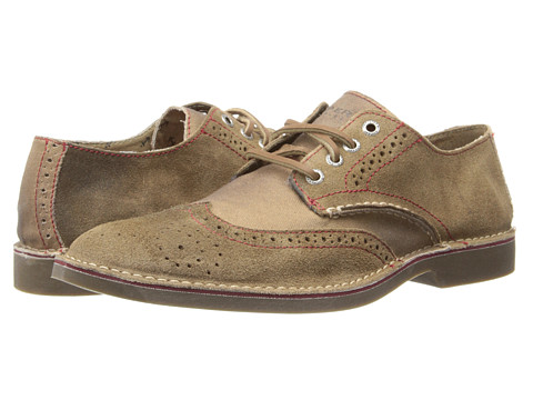 Sperry Top-Sider - Harbor Wingtip (Brown) Men's Lace Up Wing Tip Shoes