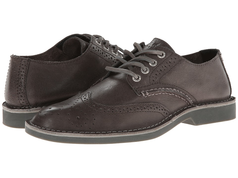 Sperry Top-Sider - Harbor Wingtip (Dark Grey) Men's Lace Up Wing Tip Shoes
