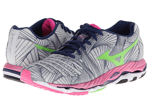 Mizuno - Wave Paradox (Micro Chip/Green Flash/Electric) Women