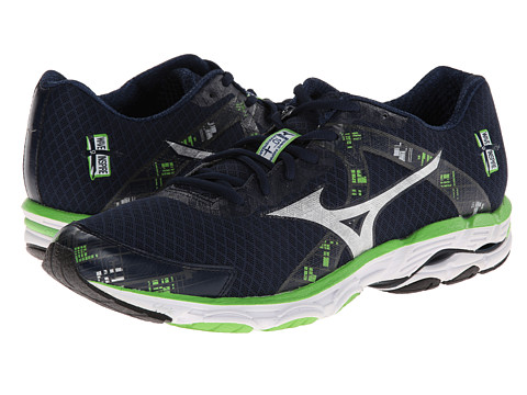 cf284eb8a31c ... UPC 041969102237 product image for Mizuno Wave Inspire 10 (Dress  Blue/Silver/Green