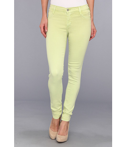 James Jeans James Twiggy 5-Pocket Legging in French Lime (French Lime) Women's Jeans