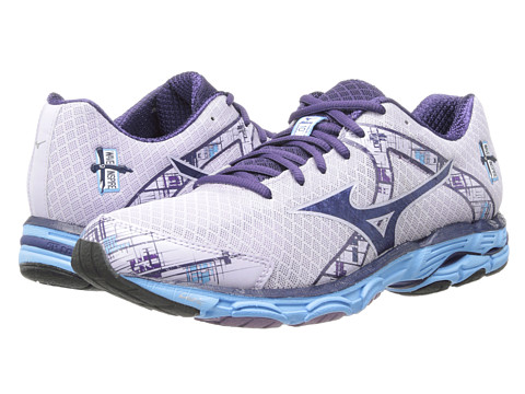 Mizuno - Wave Inspire 10 (Orchid Hush/Blue Depths/Alaskan Blue) Women