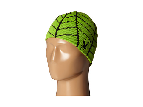 Spyder Kids - Mini Web Hat (Toddler/Little Kids/Big Kids) (Mantis Green/Black) Beanies