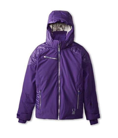 Spyder Kids - Radiant Jacket (Big Kids) (Regal/Silver) Girl's Coat