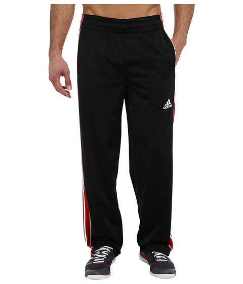 adidas - Downtown Pant (Black/Scarlet/White) Men's Casual Pants