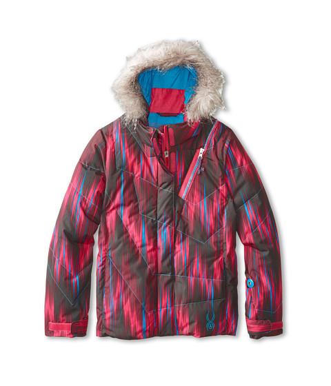 Spyder Kids - Hottie Jacket (Big Kids) (Girlfriend Dashed/Riviera) Girl's Jacket