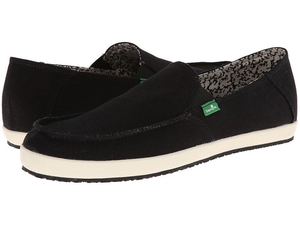 Sanuk - Casa (Black) Men's Shoes