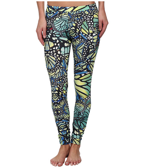 adidas Originals - All-Over Butterfly Print Leggings (Multicolor) Women