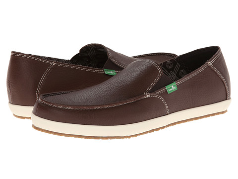 Sanuk - Casa Deluxe (Dark Brown) Men's Shoes