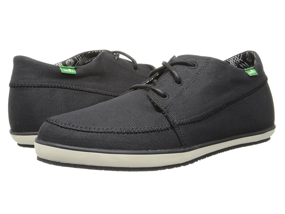 Sanuk - Cassius (Black) Men's Shoes