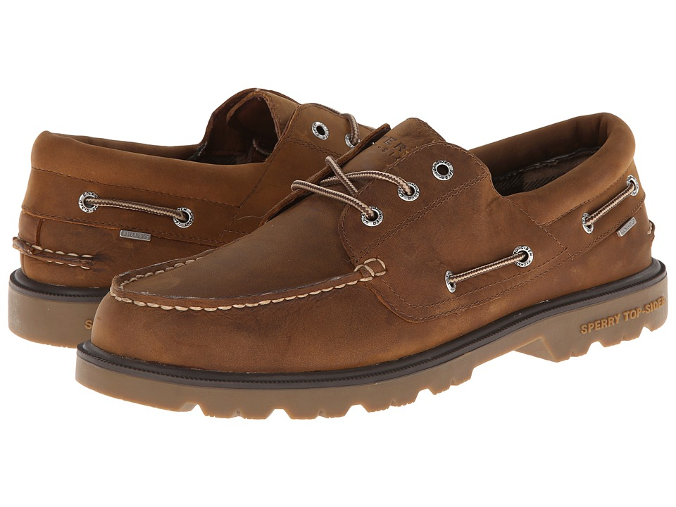Sperry Top-Sider - A/O Lug 3-Eye (Tan) Men's Shoes