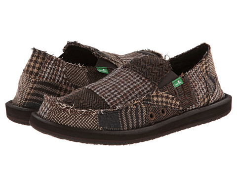 Sanuk - Vagabond Ragabond (Brown) Men's Shoes