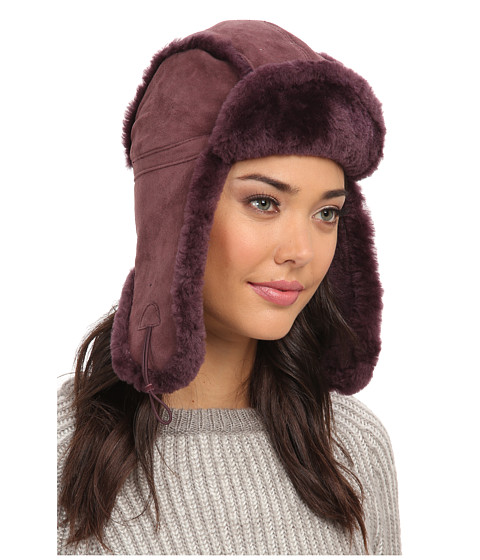 UGG - Classic Bailey Aviator Hat (Port) Traditional Hats