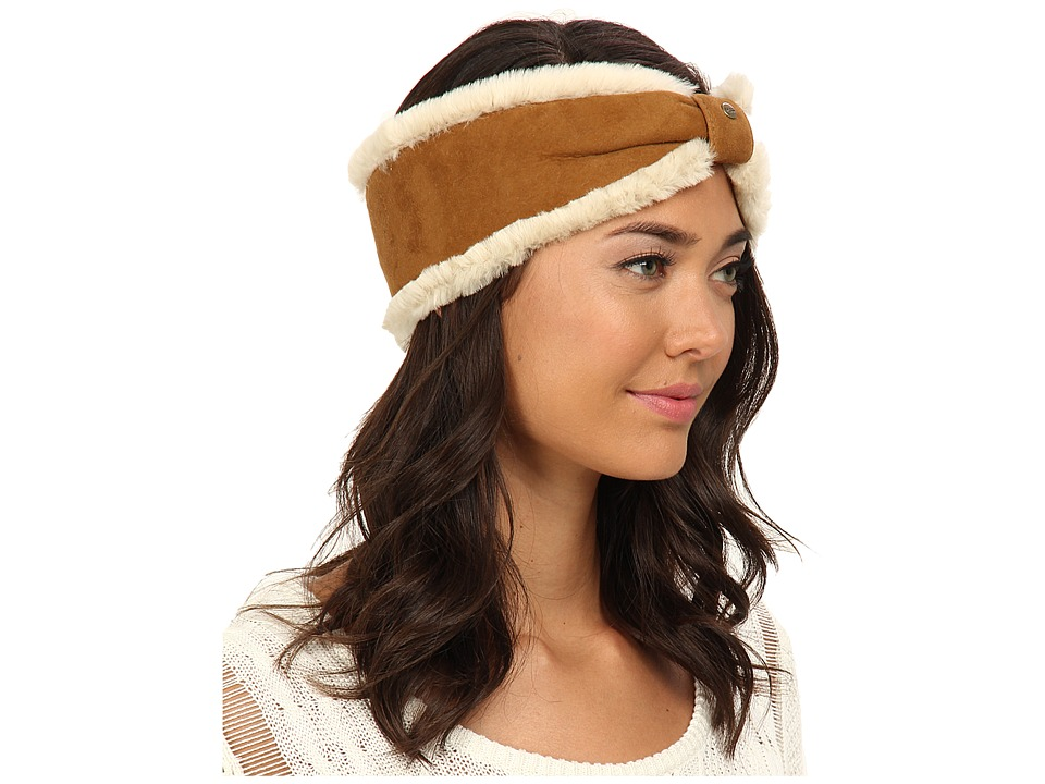 UGG - Carter Headband (Chestnut) Traditional Hats