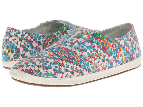 Sanuk - Runaround Kaleidoscope (Rainbow Multi) Women's Shoes