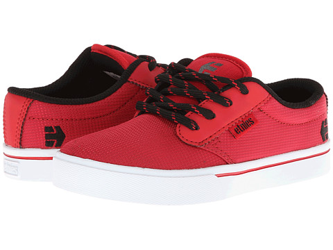 etnies Kids - Jameson 2 Eco (Toddler/Little Kid/Big Kid) (Red/Black) Boys Shoes