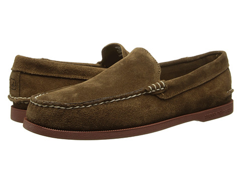 Sperry Top-Sider - A/O Venetian Suede (Tan Suede) Men's Slip on Shoes