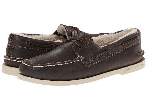 Sperry Top-Sider - A/O 2-Eye Winter (Dark Brown Winter) Men's Lace up casual Shoes