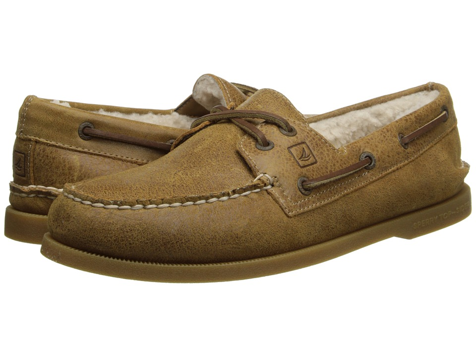 Sperry Top-Sider - A/O 2-Eye Winter (Tan Winter) Men's Lace up casual Shoes
