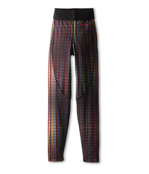 Spyder Kids - Chatter Baselayer Pant (Little Kids/Big Kids) (Black Prism Print) Girl