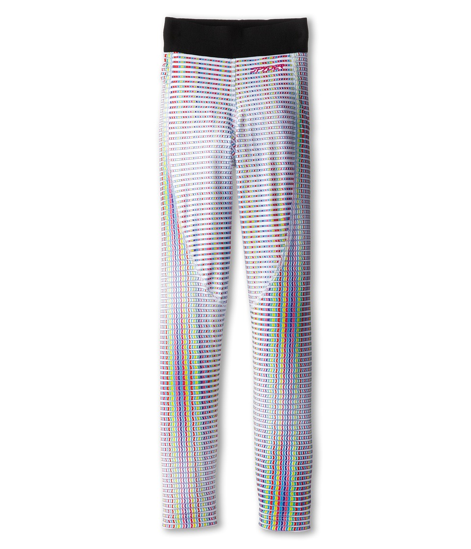 Spyder Kids - Chatter Baselayer Pant (Little Kids/Big Kids) (White Prism Print) Girl's Casual Pants