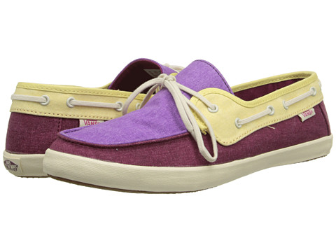 Vans - Chauffette W (Beaujolais/Dewberry) Women's Lace up casual Shoes