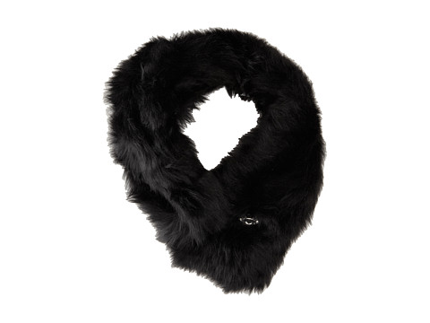 UGG - Scarlette Collar with Bailey Bling (Black) Scarves