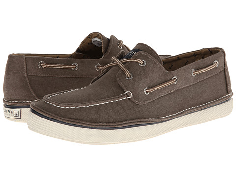 Sperry Top-Sider - Cruz 2-Eye (Chocolate Salt Wash) Men's Shoes