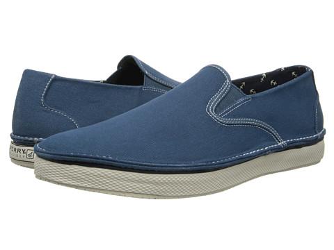 Sperry Top-Sider - Cruz Slip On (Blue Salt Wash) Men's Slip on Shoes