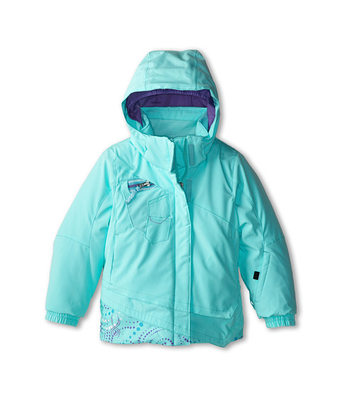 Spyder Kids - Bitsy Mynx Jacket (Toddler/Little Kids/Big Kids) (Chill/Chill Pinwheel/Pure) Girl