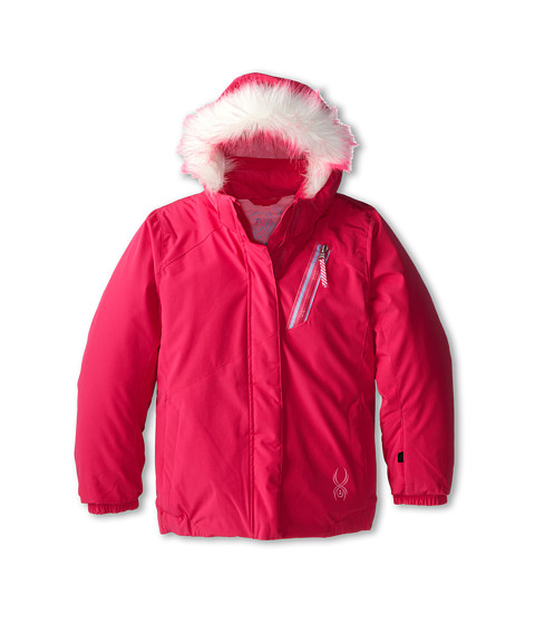 Spyder Kids - Bitsy Lola Jacket (Toddler/Little Kids/Big Kids) (Girlfriend/Sorbet) Girl's Jacket