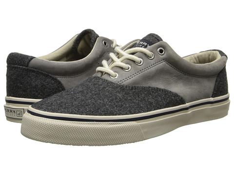 Sperry Top-Sider - Striper CVO Wool (Grey) Men's Slip on Shoes