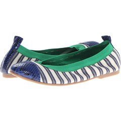 SALE! $18.99 - Save $31 on CL By Laundry Glinda (Navy Royal Blue Natural Stripe) Footwear - 62.01% OFF $49.99