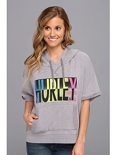 SALE! $30.99 - Save $14 on Hurley Cowabunga Fleece (Heather Grey) Apparel - 31.13% OFF $45.00