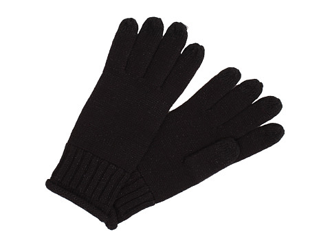 UGG - Nyla Bailey Smart Glove with Lurex (Black M) Dress Gloves