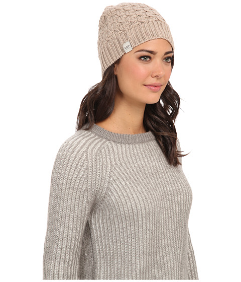 455c968b5ef ... Wool Blend Metallic Thread Beanie Hat Beige UPC 098617325029 product  image for UGG Nyla Textured Beanie with Lurex (Moonlight M) Knit