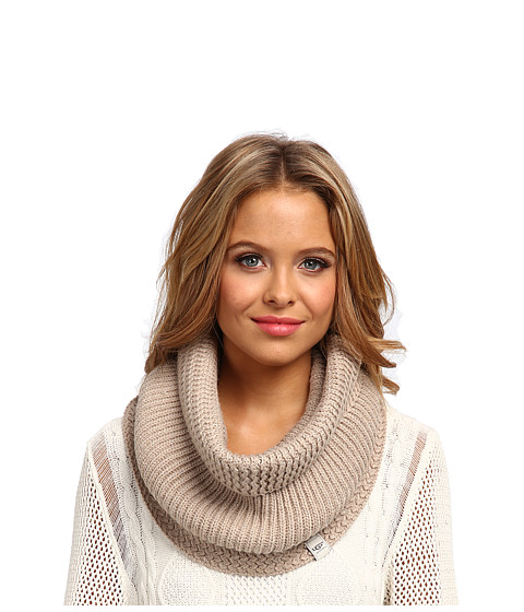 UGG - Nyla Textured Snood with Lurex (Moonlight M) Scarves